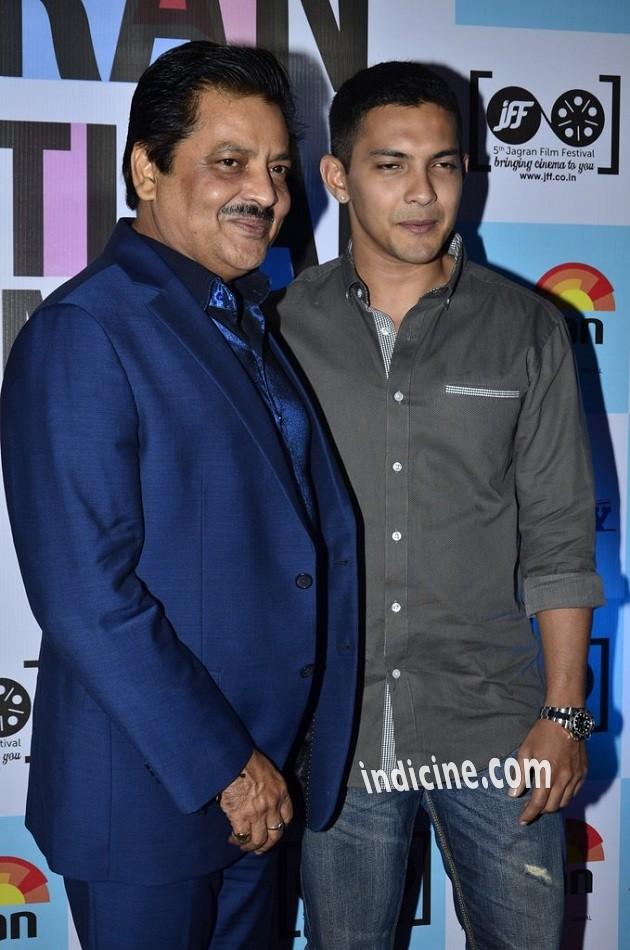 Udit Narayan with son Aditya Narayan