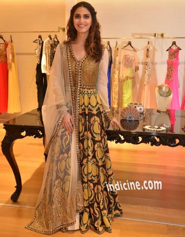 Vaani at Aza store launch in Bandra