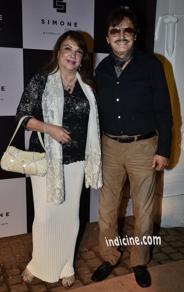 Zarine Khan with husband Sanjay Khan