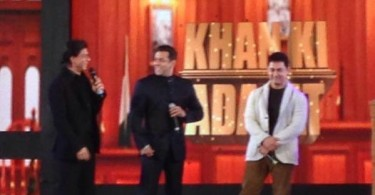 Salman - Shahrukh - Aamir together!