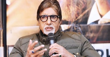 Amitabh Bachchan at London press meet