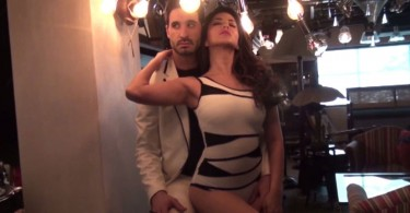Sunny Leone and Daniel Weber on Mandate Magazine Cover
