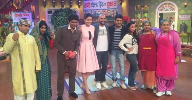 Anushka Sharma and Neil Bhoopalam on Comedy Nights With Kapil