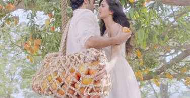 Katrina and Aditya feature together in a Slice Ad