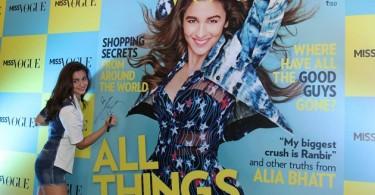 Alia Bhatt launches Miss Vogue's debut issue