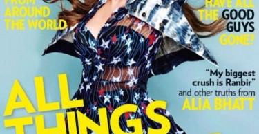 Alia Bhatt on Miss Vogue India Magazine Cover