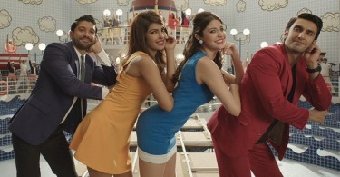 Farhan Akhtar, Priyanka Chopra, Anushka Sharma and Ranveer Singh - Dil Dhadakne Do