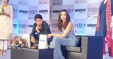 Irrfan Khan, Deepika Padukone pramote Piku