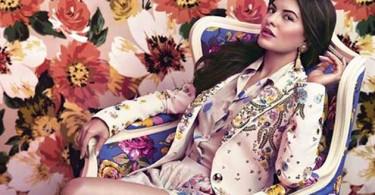 Jacqueline Fernandes Harper's Bazaar India Magazine scan