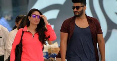 Kareena and Arjun Kapoor