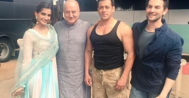 Salman Khan, Sonam Kapoor, Neil Nitin Mukesh and Anupam Kher