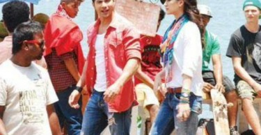 Varun Dhawan, Kriti Sanon shooting for Dilwale