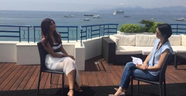 Katrina Kaif at the media interview for Cannes