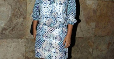 Zoya Akhtar at Dil Dhadakne Do screening