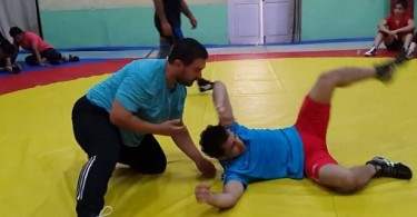 Aamir Khan's wrestling training for Dangal