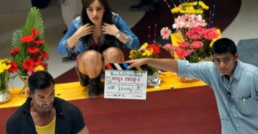 John Abraham, Neha Sharma shooting for Hera Pheri 3