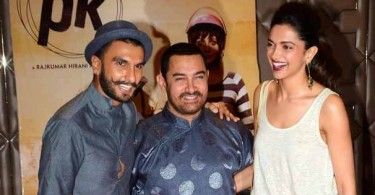 Ranveer Singh, Aamir Khan and Deepika
