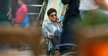 SRK on the sets of Dilwale