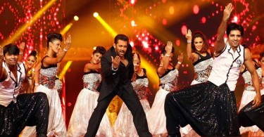 Salman Khan performs at Arab-Indo Bollywood Awards 2015