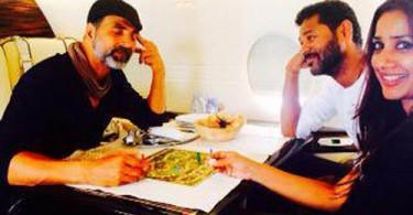 Akshay Kumar, Prabhu Dheva and Ashvini Yardi