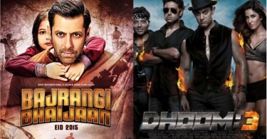 Dhoom 3 vs Bajrangi Bhaijaan