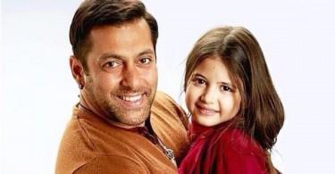 Salman Khan and Harshali Malhotra