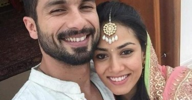 Shahid Kapoor posts first selfie with wife Mira