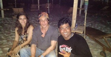 Shahrukh Khan And Kajol Party In Bulgaria