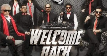 Welcome Back new poster