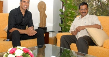 Akshay Kumar meets Arvind Kejriwal Kejriwal to discuss farmers' issues