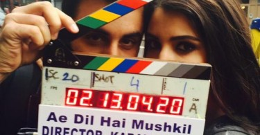 Ranbir Kapoor, Anushka Sharma on the sets of Ae Dil Hai Mushkil