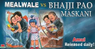 Dilwale vs Bajirao Mastani - Amul Ad