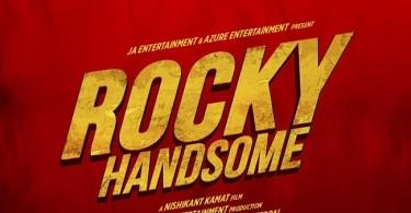 Rocky Handsome Logo