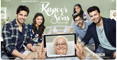 Kapoor & Sons New Poster