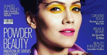 Waluscha De Sousa on Femina Magazine Cover