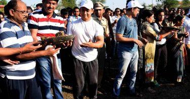 Aamir Khan promoting Maharashtra Jalyukta Shivar Abhiyan