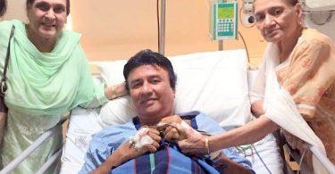 Anu Malik in the Lilavati Hospital