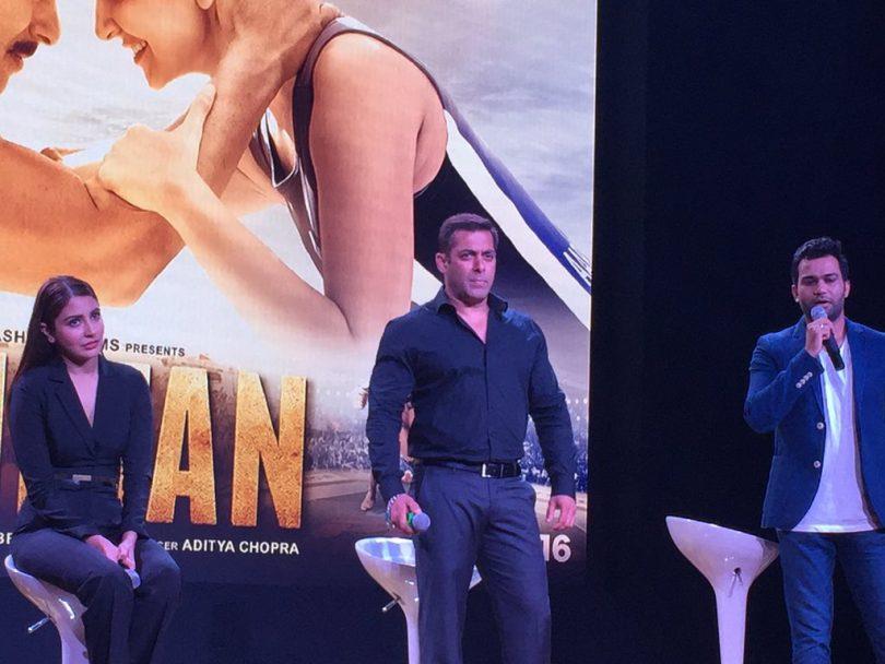 Anushka, Salman, Ali Abbas Zafar at Sultan Trailer Launch