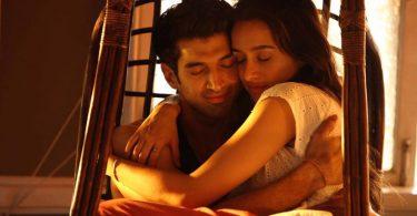 New Movie Still from Ok Jaanu featuring Aditya Roy Kapur and Shraddha Kapoor
