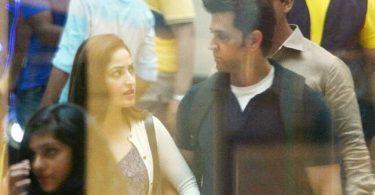 Hrithik Roshan and Yami Gautam shoot for Kaabil
