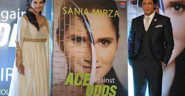 Shahrukh Khan launches Sania Mirza's Autobiography