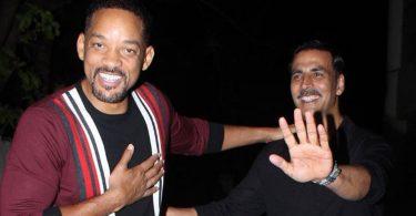 Akshay Kumar with Will Smith