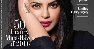 Priyanka Chopra on The Man Magazine Cover