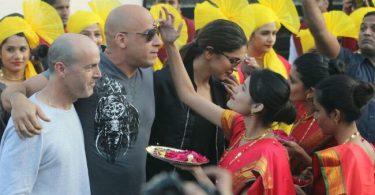 Deepika Padukone, Vin Diesel for the premiere of xXx The return of Xander Cage