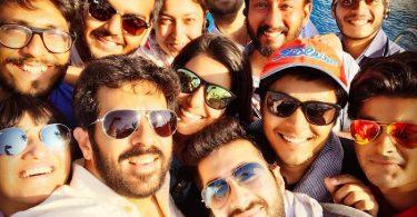 Kabir Khan with Tubelight Team