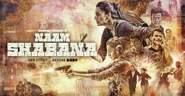 Naam Shabana Second Poster
