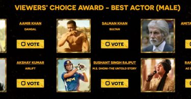 Zee Cine Awards Best Actor Nominations