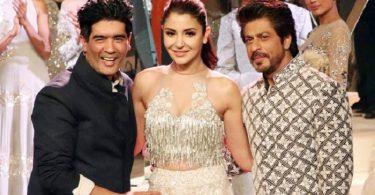 SRK and Anushka Sharma walk for Manish Malhotra at the Mijwan 2017 fashion show