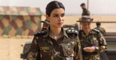 Diana Penty's Military Look in Parmanu