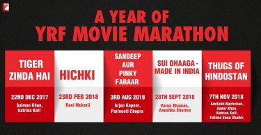 Yash Raj Films forthcoming films